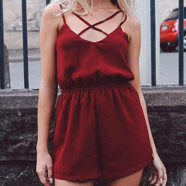 PLAY ALL DAY PLAYSUIT - #CHOKEONTHIS  - chokers  - chokers USA  - chokers Canada  - chokers for sale  - buy chokers
