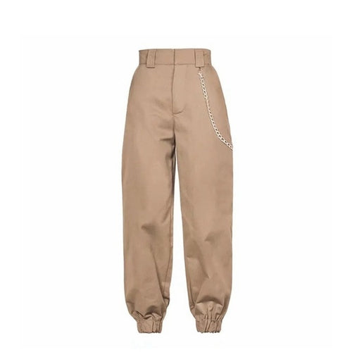 Spring 2019 Fashion Woman Camo Pants Women Cargo High Waist Pants Loose Trousers Joggers Women Camouflage Sweatpants Streetwear