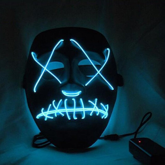 Novelty & Special Use Buy Cheap Dropshipping El Wire Mask Light Up Neon Skull Led Mask For Halloween Party 2018 Theme Cosplay Masks Us