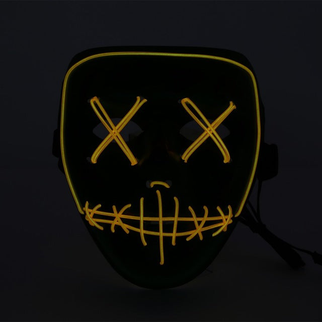 Costumes & Accessories Buy Cheap Dropshipping El Wire Mask Light Up Neon Skull Led Mask For Halloween Party 2018 Theme Cosplay Masks Us Kids Costumes & Accessories
