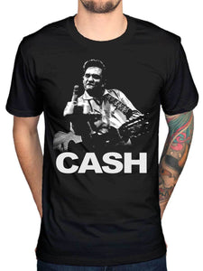Johnny Cash Black T-Shirt