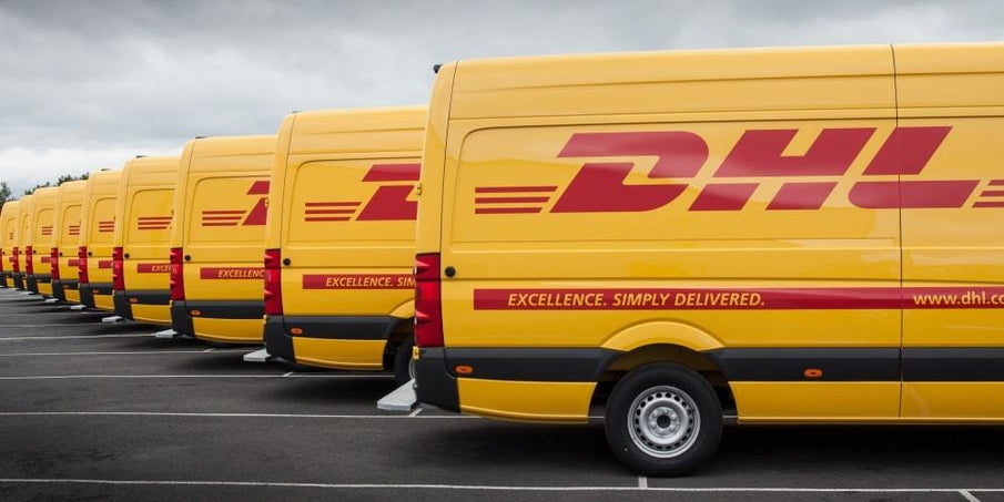 Worldwide shipping with DHL now available