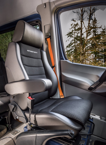 Scheel-Mann seats, your back will thank you!