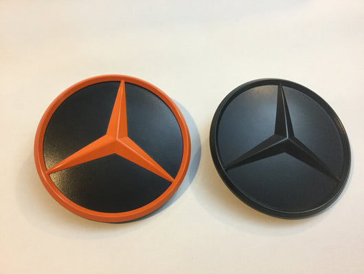Sprinter rear door emblem black or orange
