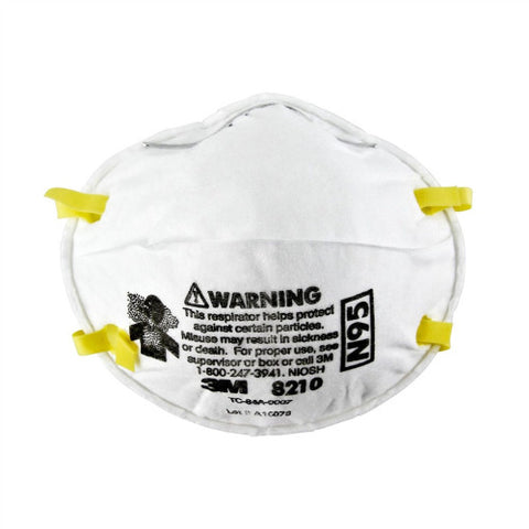3M 8210 N95 Particulate Respirator Mask (Box of 20)