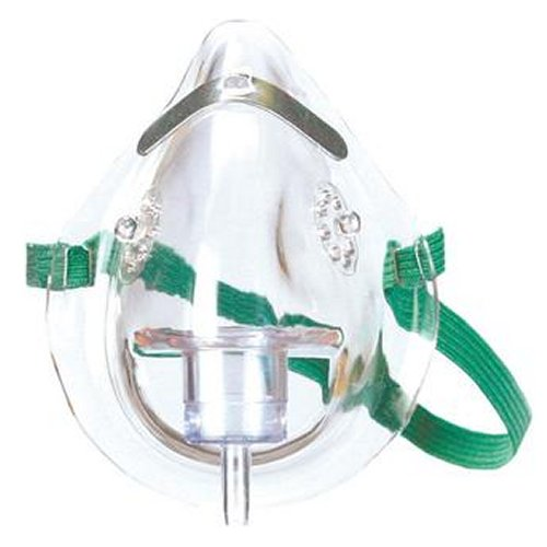 Adult Oxygen Mask with Detachable 7' Tubing