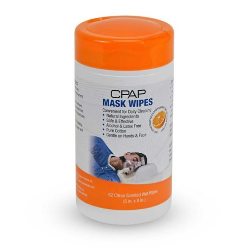 CPAP Mask Wipes - Citrus Scent