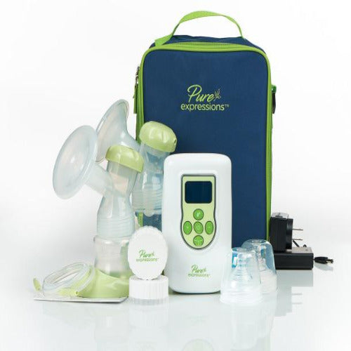 breast pump, pure expressions breast pump