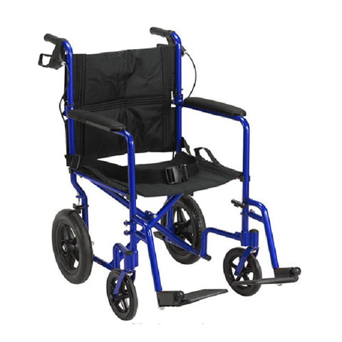 19 Inch Lightweight Expedition Aluminum Transport Chair