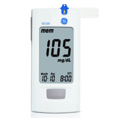 GE 100 Blood Glucose Monitoring System