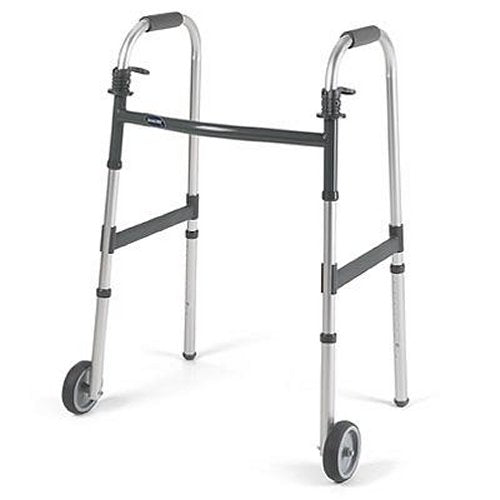 "I-Class Adult Paddle Walker - 5"" Fixed Wheels"