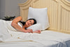 10-in-1 Flip Pillow Special w/Choice of Beige or Blue Pillow Case!