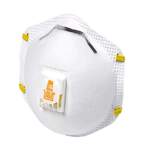 3M Particulate Respirator 3MM8511, N95 Mask 10 masks per box