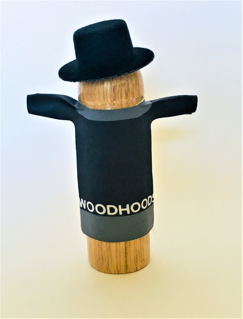 Richard the Tuxedo wearing a tuxedo with bowtie and top hat WoodHoods penis outfit