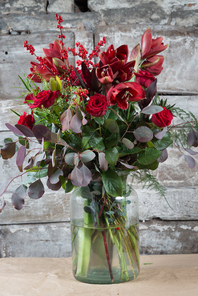 Winter Seasonal Christmas Bouquet