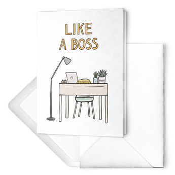 EO Rank Greeting Card - Executive