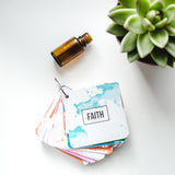 "Aromatherapy Essential Oil Flashcards for ""All the feels"" - Now with fun affirmations!"