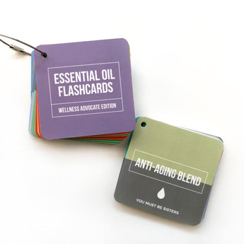 Essential Oil Flashcards - doTERRA Inspired Single & Blend Pack