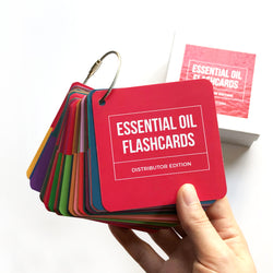 Simple and Sassy Essential Oil Flashcards - Inspired by Young Living