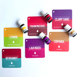 Young Living Inspired Essential Oil Flashcards