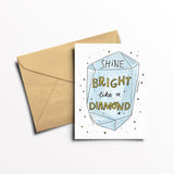 EO Rank Greeting Card - Diamond