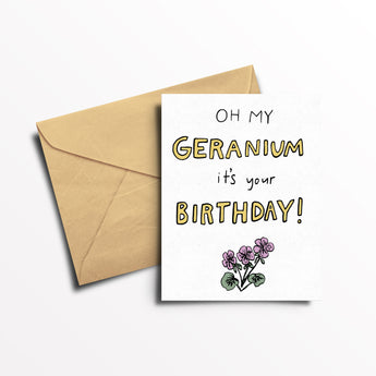 Essential Oil Greeting Card