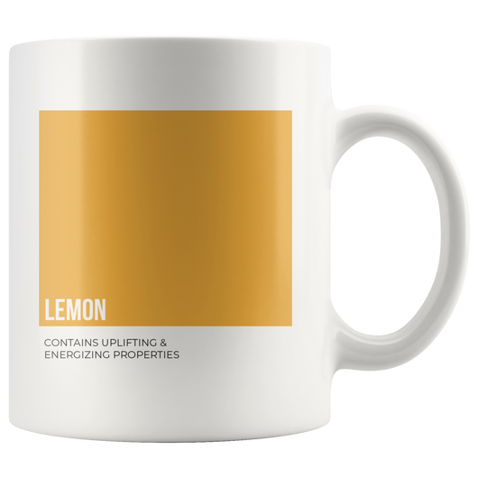 Oily Mug: Lemon (Inspired by Young Living)