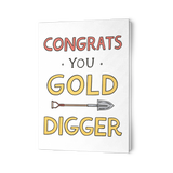 EO Rank Greeting Card - Gold