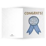 EO Rank Greeting Card - Elite