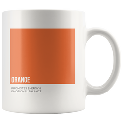 Oily Mug: Orange (Inspired by Young Living)