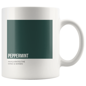 Oily Mug: Peppermint (Inspired by Young Living)