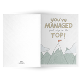 EO Rank Greeting Card - Manager