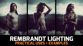 Rembrandt Lighting Technique Examples and Practical Uses