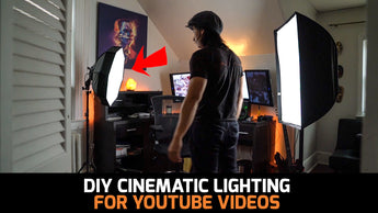 DIY Lighting for YOUTUBE videos in 2019