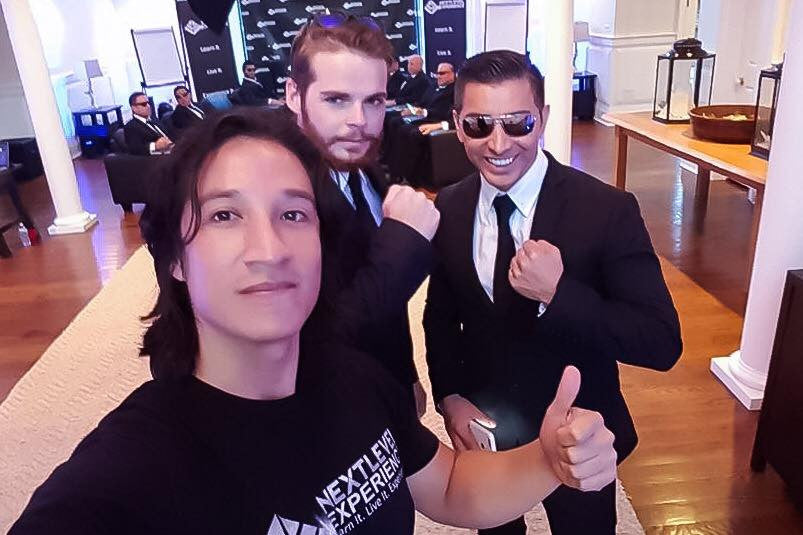 Ph daniel sanchez selfie with christian abad and Jay Russell