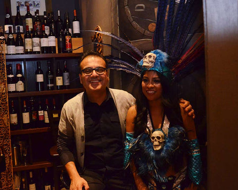 gio velez and eve maya luna at sorell wine bar bistro