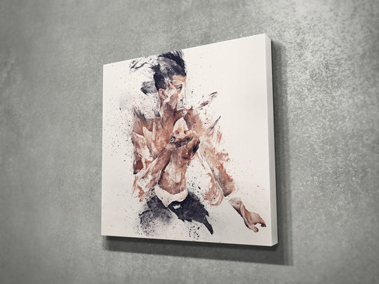 Bushido I (2017) 16x16 | Open Edition Canvas Print