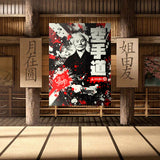 Funakoshi Shotokan Karate 空手道 Canvas Print Wall Art (Open Edition)