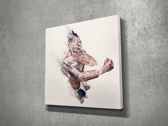 Bushido II (2017) 16x16 | Open Edition Canvas Print