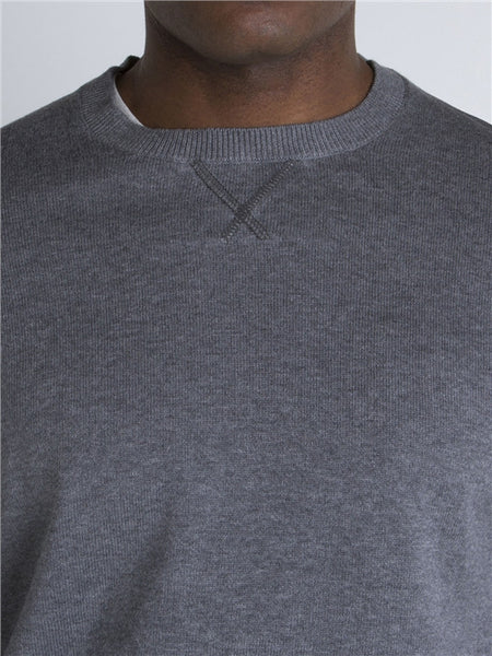 Wilder Quilted Crew Neck Jumper - e Deals and Offers