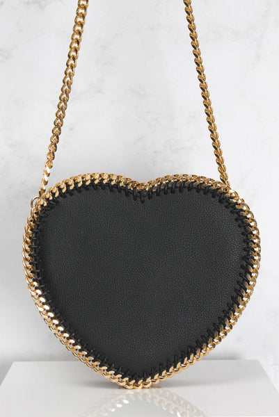 Black & Gold Shoulder Bag - e Deals and Offers