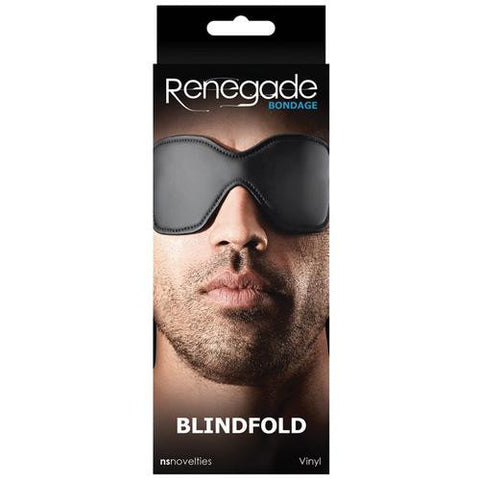 Renegade Bondage Blindfold - Black