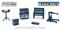1:64 Auto Body Shop - Shop Tool Accessories Series 2 - Bigfoot Monster Truck