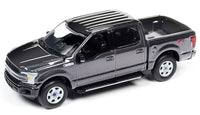 Auto World 1:64 2018 Ford F-150 / Magnetic Gunmetal Black