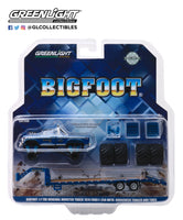 1:64 Bigfoot #1 The Original Monster Truck (1979) - 1974 Ford F-250 Monster Truck on Gooseneck Trailer