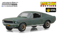Greenlight Hobby Exclusive 1:64 Mecum Auctions Collector Cars - Unrestored Bullitt 1968 Ford Mustang GT Fastback - Kissimmee 202
