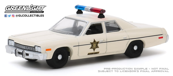 Greenlight Hobby Exclusive 1:64 1975 Dodge Monaco - Hazzard County Sheriff