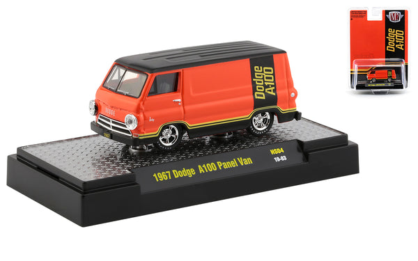 M2 1967 Dodge A-100 Panel Van - 1:64 Hobby Only