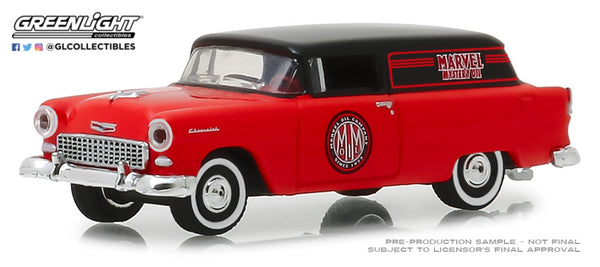 Greenlight 1:64 Blue Collar Collection Series 5 : 1955 Chevrolet Sedan Delivery - Marvel Mystery Oil