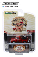 "Greenlight 1:64 Busted Knuckle Garage Series 1 : 1956 Ford F-100 Tow Truck ""Busted Knuckle Garage Parts & Service"""